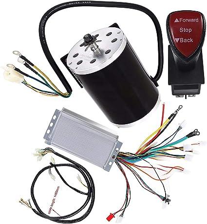 WPHMOTO - Motor eléctrico sin escobillas de alta velocidad 48 V CC ...