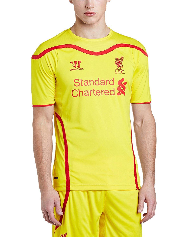 Warrior Liverpool Away Short Sleeve Jersey (CYL) (2XL) [並行輸入品] B077QH3BFJ