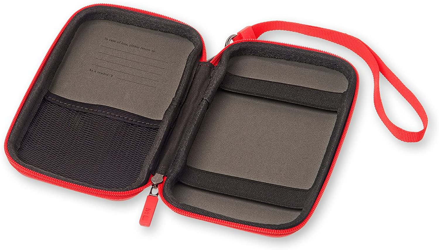 Moleskine Journey Scarlet Red Small Pouch Hard