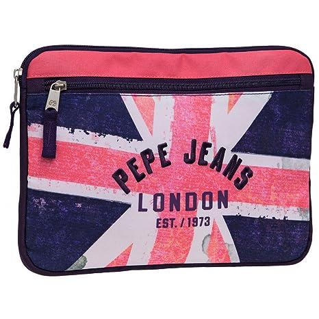 Pepe Jeans Funda para Tablet, Diseño Bandera, Color Rosa ...