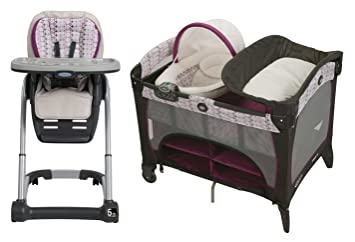 Amazoncom Graco Blossom 4 In 1 Seating System Pack N Play