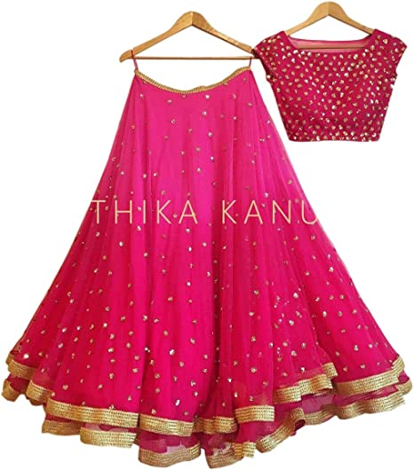 gowns for women party wear lehenga choli for women party wear salwar suits for women stitched dress materials for women navratri special Long Gown lehenga choli Lehenga Cholis at amazon