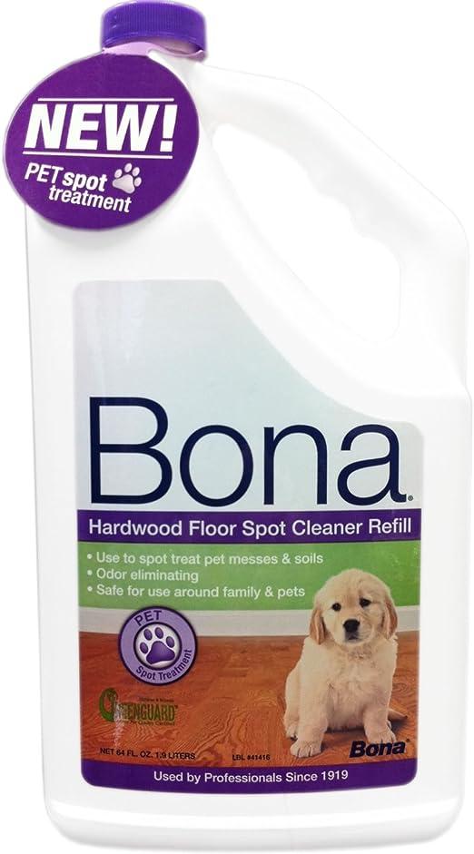 Amazon Com Bona Hardwood Floor Spot Cleaner 64oz Refill Home Kitchen