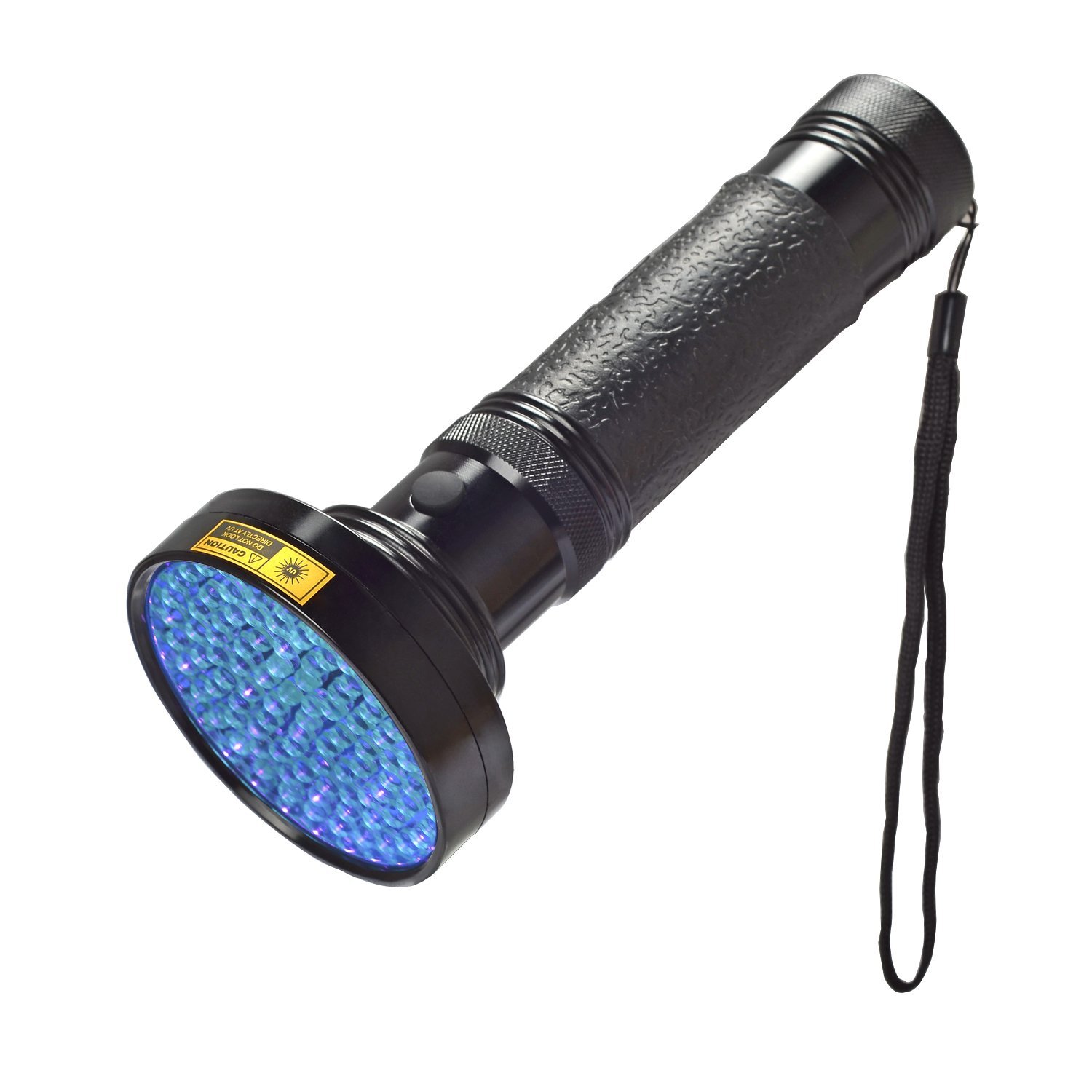KMASHI UV Flashlight 100 LED Light Pet Urine Stain Detector Blacklight