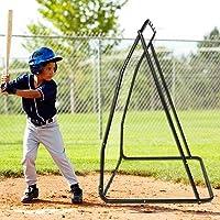 AYNEFY Honkbal Net, Outdoor Baseball Training Netto Draagbare Honkbal Praktijk Doel Netto Baseball Softbal Training Aid…
