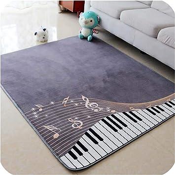 Tapete de piano de 130 x 150 cm para habitación de niños