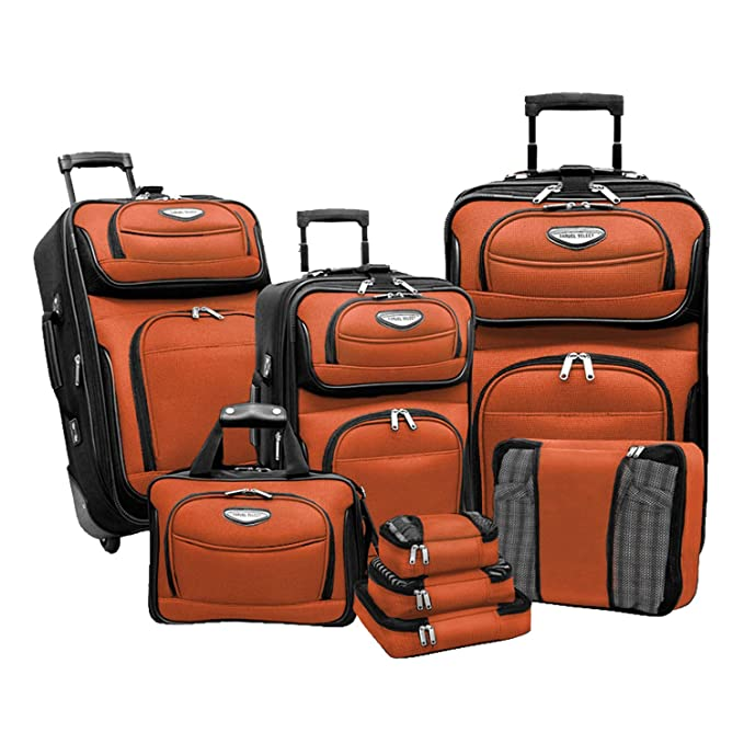Amazon.com: Traveler s Choice Amsterdam Juego de equipaje ...