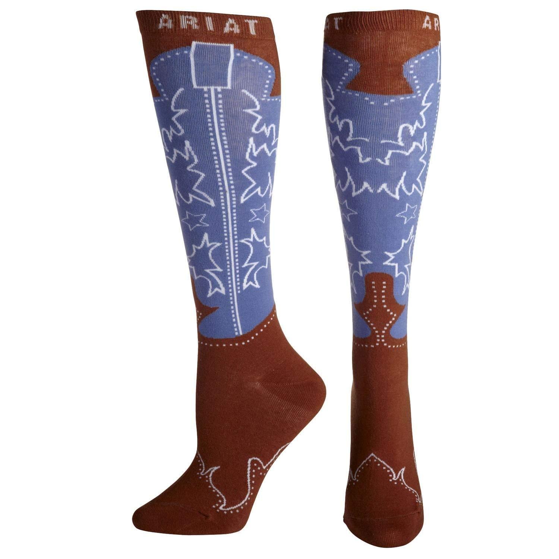 644252de810 ARIAT Women's Western Boot Sock