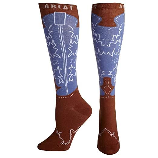 17bb7a059e8 Amazon.com  Ariat Women s Western Boot Knee High Brown Pink Size One Size   Shoes
