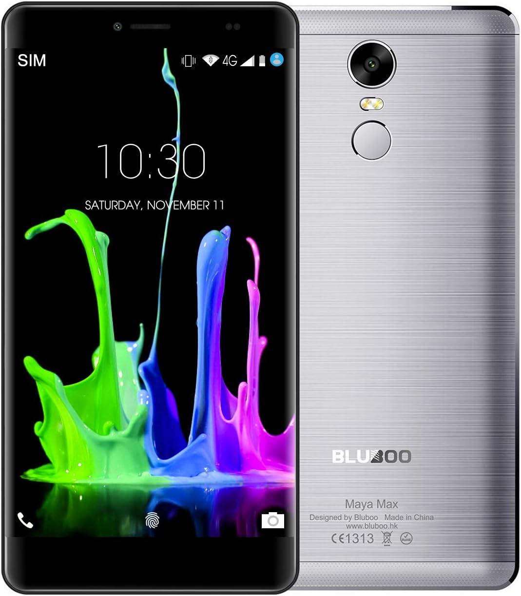 Moviles Libres Baratos, BLUBOO Maya Max 6.0 Pulgadas 3GB RAM 32GB ...
