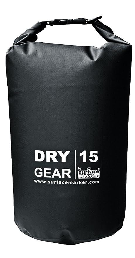 Resistente Bolsa Estanca de 15 Litros- Waterproof. En colores -Amarillo, negro y rojo