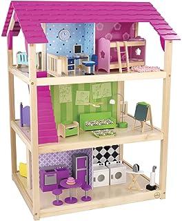 Amazoncom KidKraft MY MODERN DOLL HOUSE Dollhouse w LIGHTS