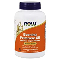 NOW Supplements, Evening Primrose Oil 1000 mg, Cold Pressed, Hexane Free, Vegan...
