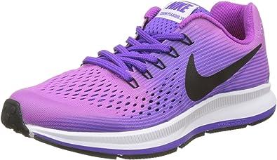 Nike Zoom Pegasus 34 GS, Zapatillas de Running para Niños ...