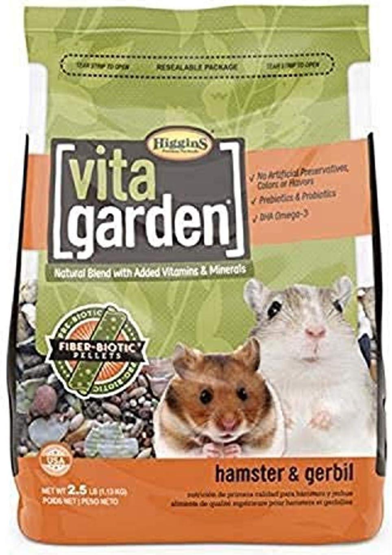 Higgins Vita Garden Hamster & Gerbil Food
