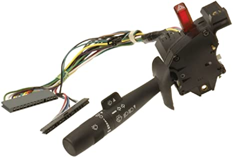 Turn Signal; Multi-Function; Combination; Hazard; Wiper; Washer Switch For 2002-2007 Ford F250//F350//F450//F550 Super Duty Pickup APDTY 4C3Z13K359AAA Switch