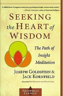 Amazon mindfulness a practical guide to awakening seeking the heart of wisdom the path of insight meditation shambhala classics fandeluxe Images