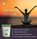 Tea Tree Oil Foot Soak With Epsom Salt by Kate