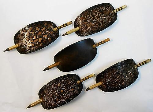 Set of 3 ponytail holders designers choice