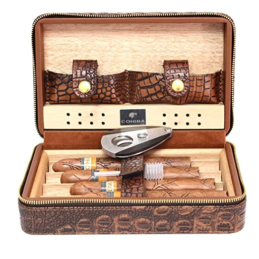 COHIBA Portable Cigar Humidor Case