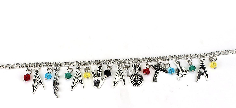 Handcrafted Star Trek Themed Charm Bracelet by Lovestruck Lulu STAR TREK