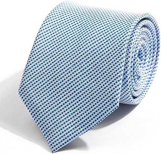 Neckchiefs Los Hombres Atan la Corbata Azul Clara de la Fiesta de ...