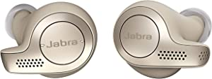 Jabra Elite 65t Earbuds – Alexa Built-In, True Wireless Earbuds with Charging Case, Gold Beige – Bluetooth Earbuds Engineered for the Best True Wireless Calls and Music Experience