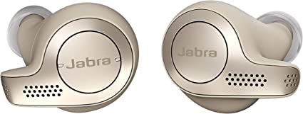Amazon Com Jabra Elite 65t Earbuds Alexa Built In True Wireless Earbuds With Charging Case Gold Beige Bluetooth Earbuds Engineered For The Best True Wireless Calls And Music Experience