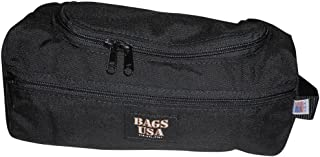 product image for BAGS USA Toiletry Bag with Easy Excess U Opening Side Pocket Made in U.s.a.