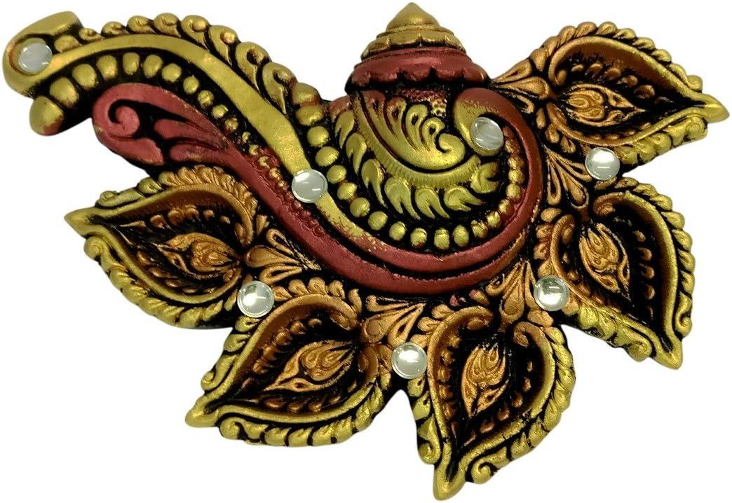 Ramyas Handcrafted Diwali Diya Plate 7020