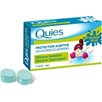 Quies protection auditive silicone natation 3 paires