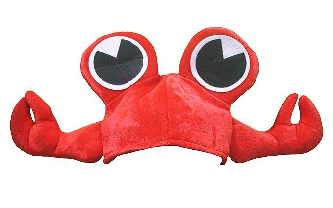 Sombrero unisex de Petitebelle con diseño de cangrejo rojo para fiesta de  disfraces 871eae00c7f