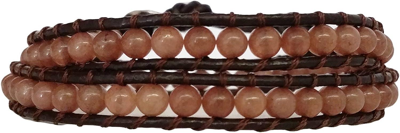 La Loria Pulsera de Perlas Mujer La Perlería Perla Pulsera De Verdadero Natural Piedras