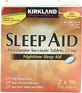 Kirkland Signature Sleep Aid Tablet, 192 Count