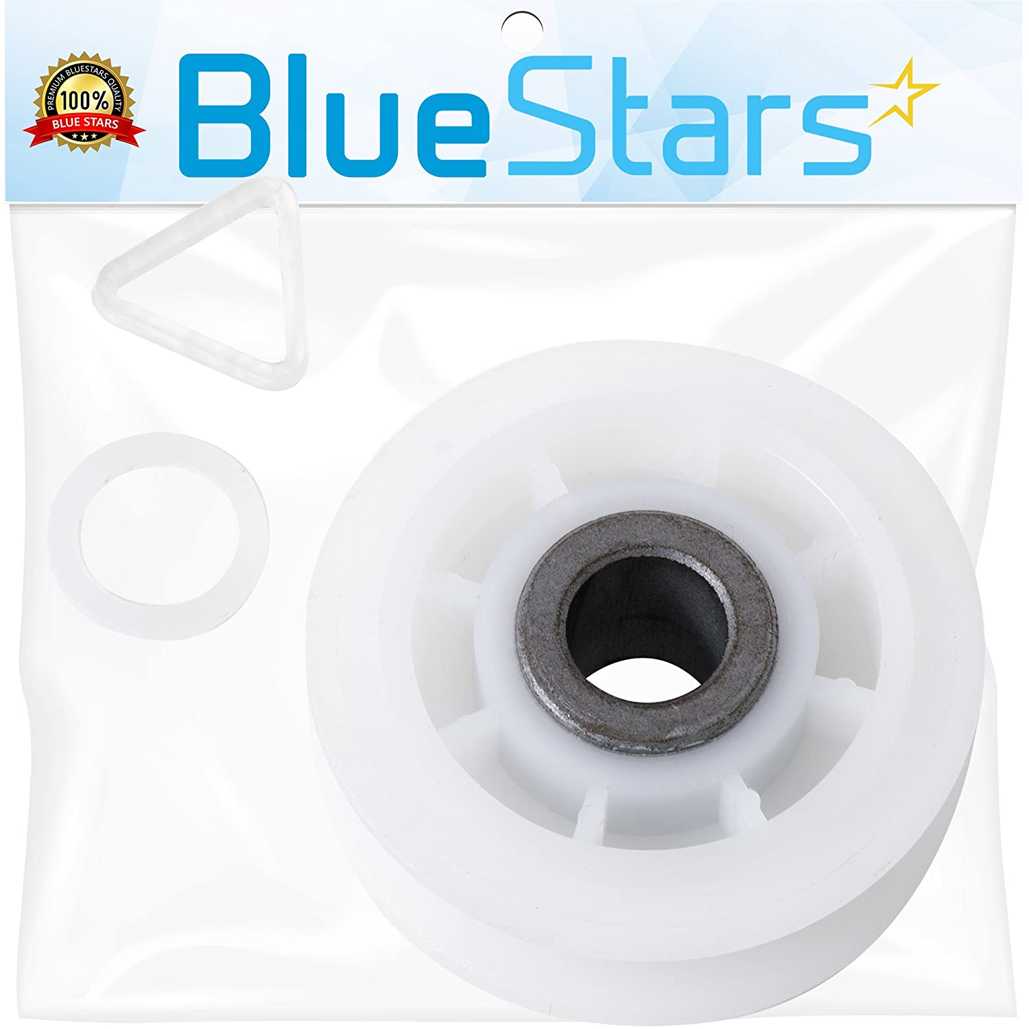 Ultra Durable 279640 Dryer Idler Pulley Replacement part by Blue Stars - Exact Fit for Whirlpool & Kenmore dryer - Replaces 3388672, 697692, AP3094197, W10468057