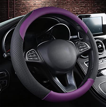 Kevin Car Steering Wheel Cover, Four Seasons Universal Non-Slip