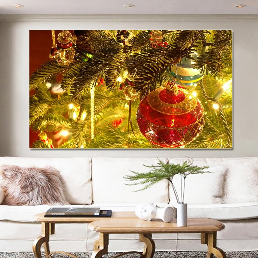 Amazon.com: Blxecky 5D DIY Diamond Cross Stitch Painting,Living Room ...