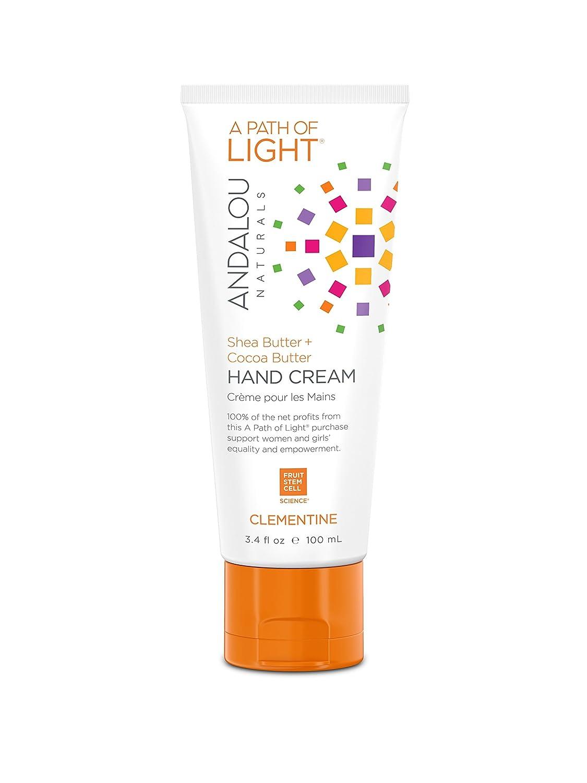 Andalou Naturals Clementine Hand Cream, 3.4 fl. Oz. 859975002669