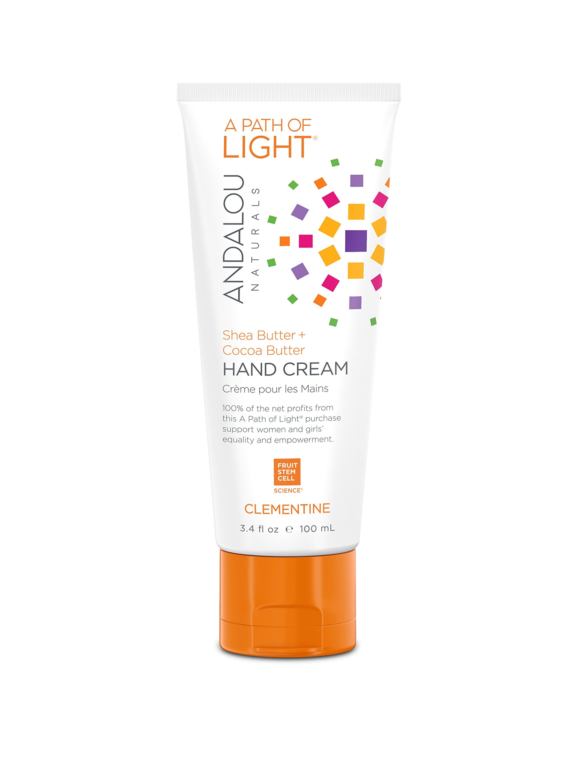 Andalou Naturals Clementine Hand Cream 3.4 Ounce