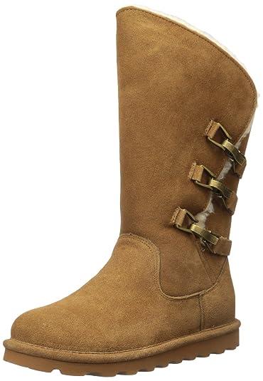 Bearpaw Women's Jenna Boots, Brown Suede, Rubber, Wool, ...