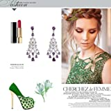 Retro Chandelier Earrings with Long Cluster Tail