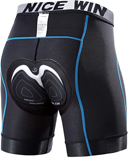 Pantaloncini morbidi da ciclismo in gel 2 pezzi Imbottito per pantaloni da
