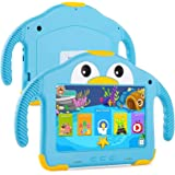 UCMDA Kids Tablet - 7 inch Toddler Tablet for Kids W/Penguin Case, Android 10.0, 32GB ROM, WIFI Dual Camera, 3500mah Capacity