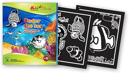 Quackduck libro para colorear Under The Sea - Vitrage Designs ...