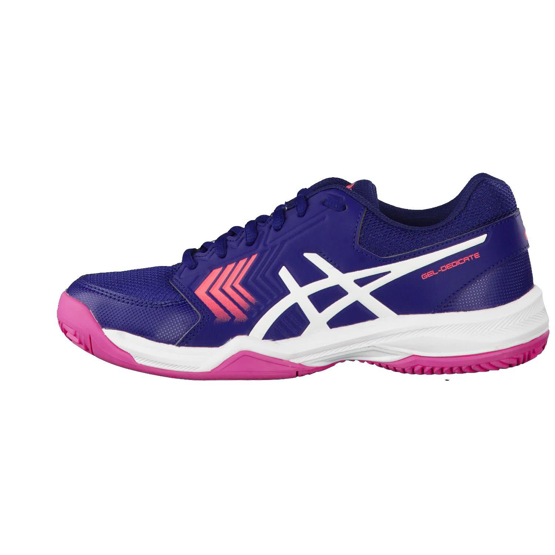 ASICS Gel Dedicate 5 Clay, Chaussures de Tennis Femme