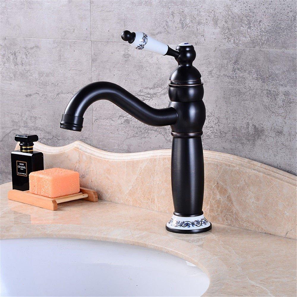 NewBorn Faucet Wasserhähne Warmes und Kaltes Wasser Größe QualitätVault-Backup Einfache All-in-One-förmigen Basin-Wide Wasser Trinkwasser Messingarmaturen