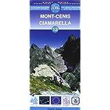Carte de randonnée : Mont-Cenis, N° 13 (bilingue français-italien)