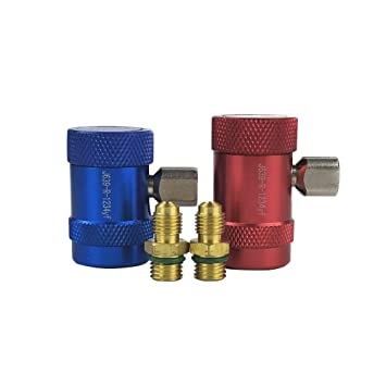 Wisepick AC Compressor R134a Quick Manual Coupler Connector Adapter