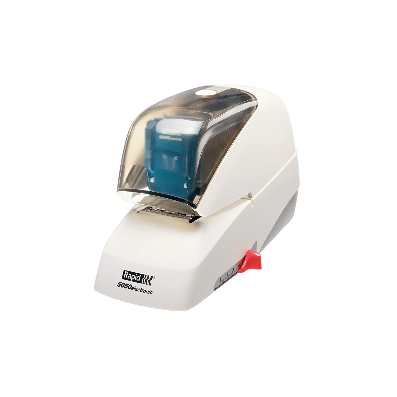 Rapid-Cucitrice elettrica R5050E Supreme Bianco//Blu