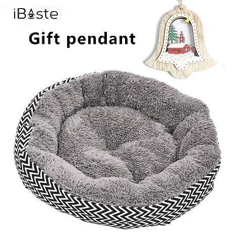 Cama para perros y gatos de mascota, suave, resistente a los arañazos, cálida, acogedora, ...
